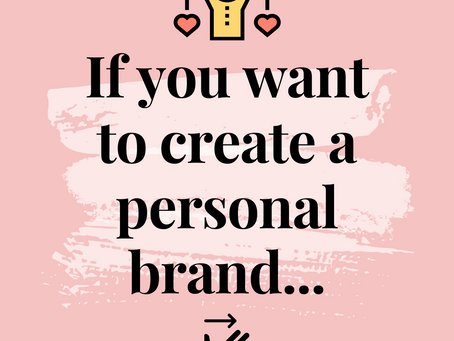 Getting Started with a Personal Brand
