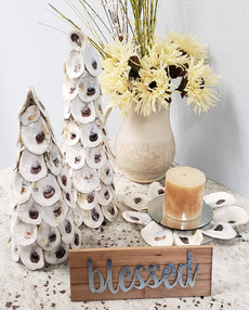 Oyster Trees and Candle Holder