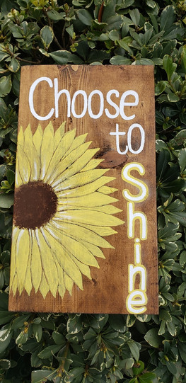 Choose to Shine by Taylor