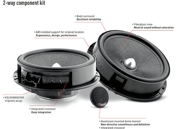 T6.1 Front Speaker Audio Upgrade Kit