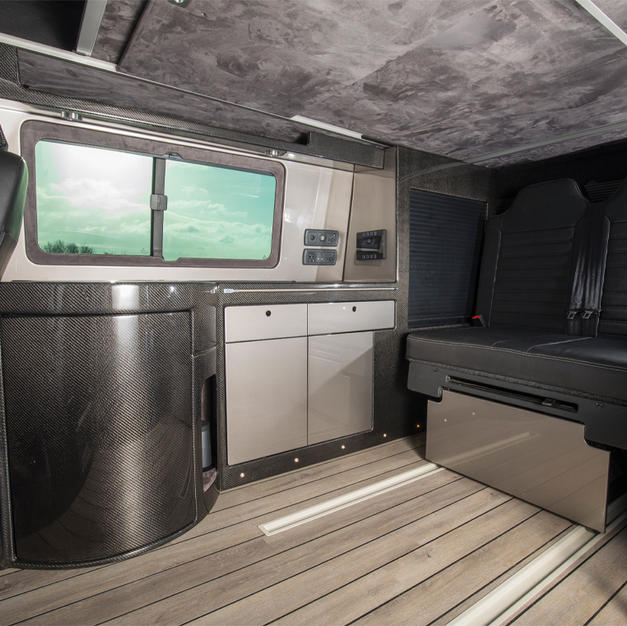 Carbon Fiber VW Campervan Conversion