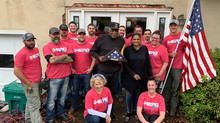 House of Heroes National Completes Home Repairs