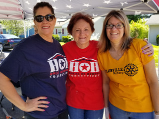 Plainville Rotary Helps Local Vet