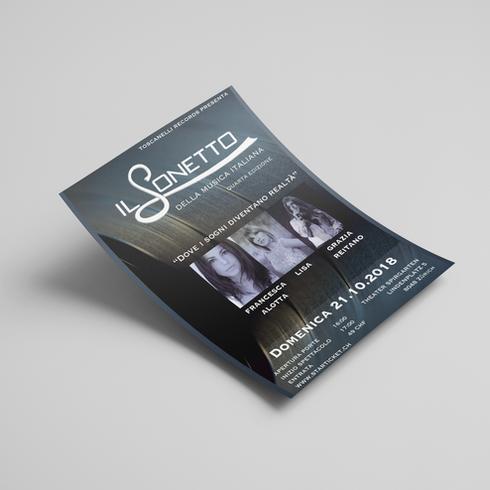 Gestaltung Flyer