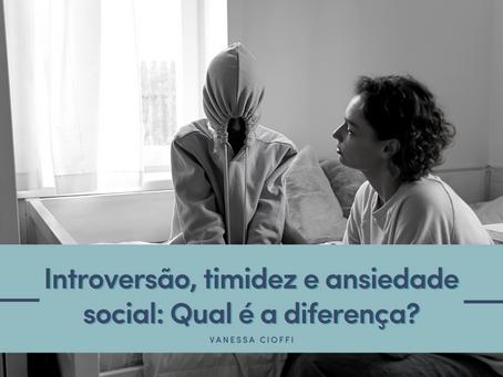 Introversão, timidez e ansiedade social: Qual é a diferença?