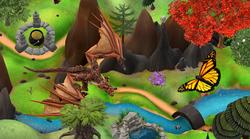 Dragon et Papillon