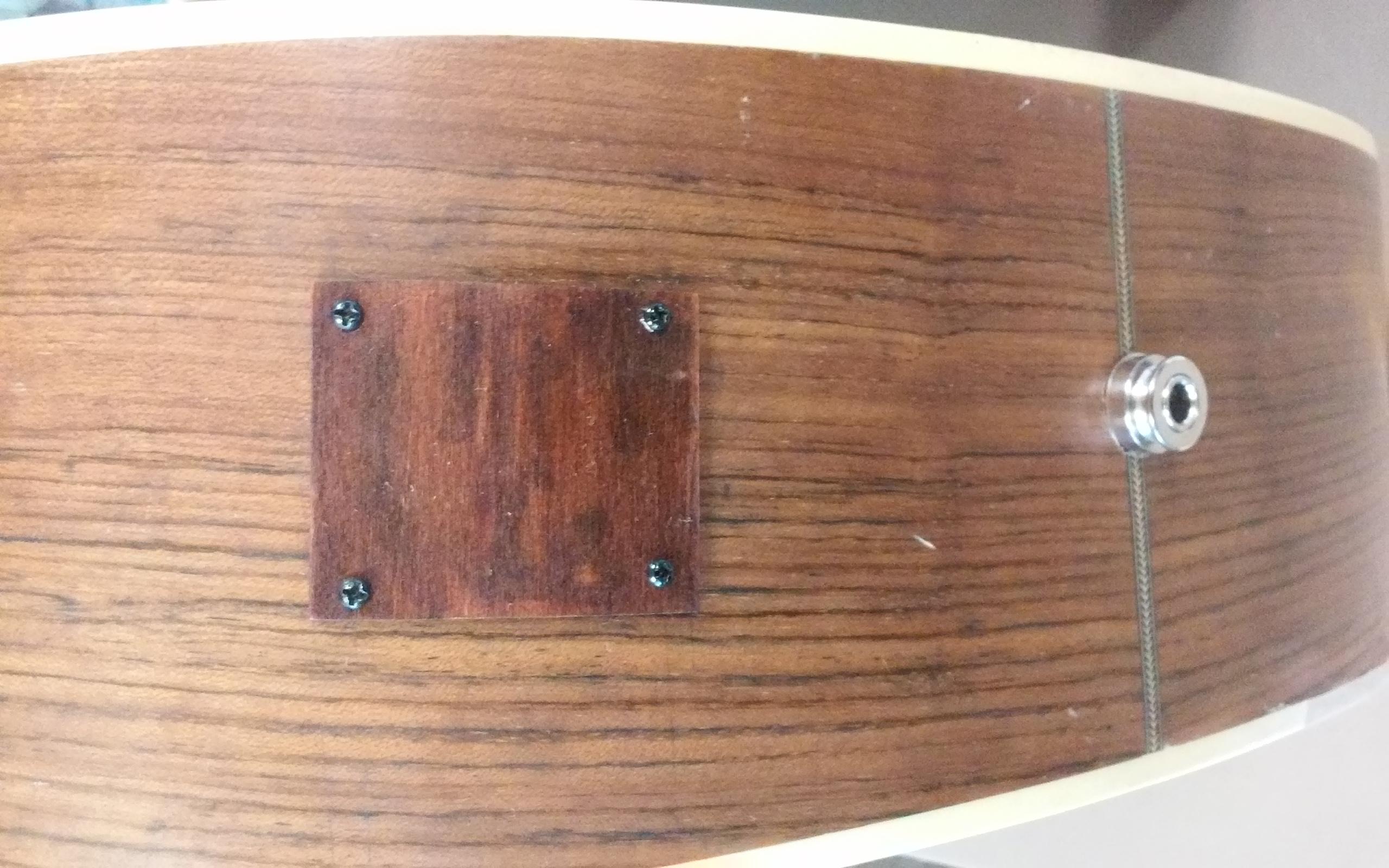 Acoustic repair plate