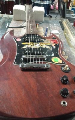 Gibson SG Set Up