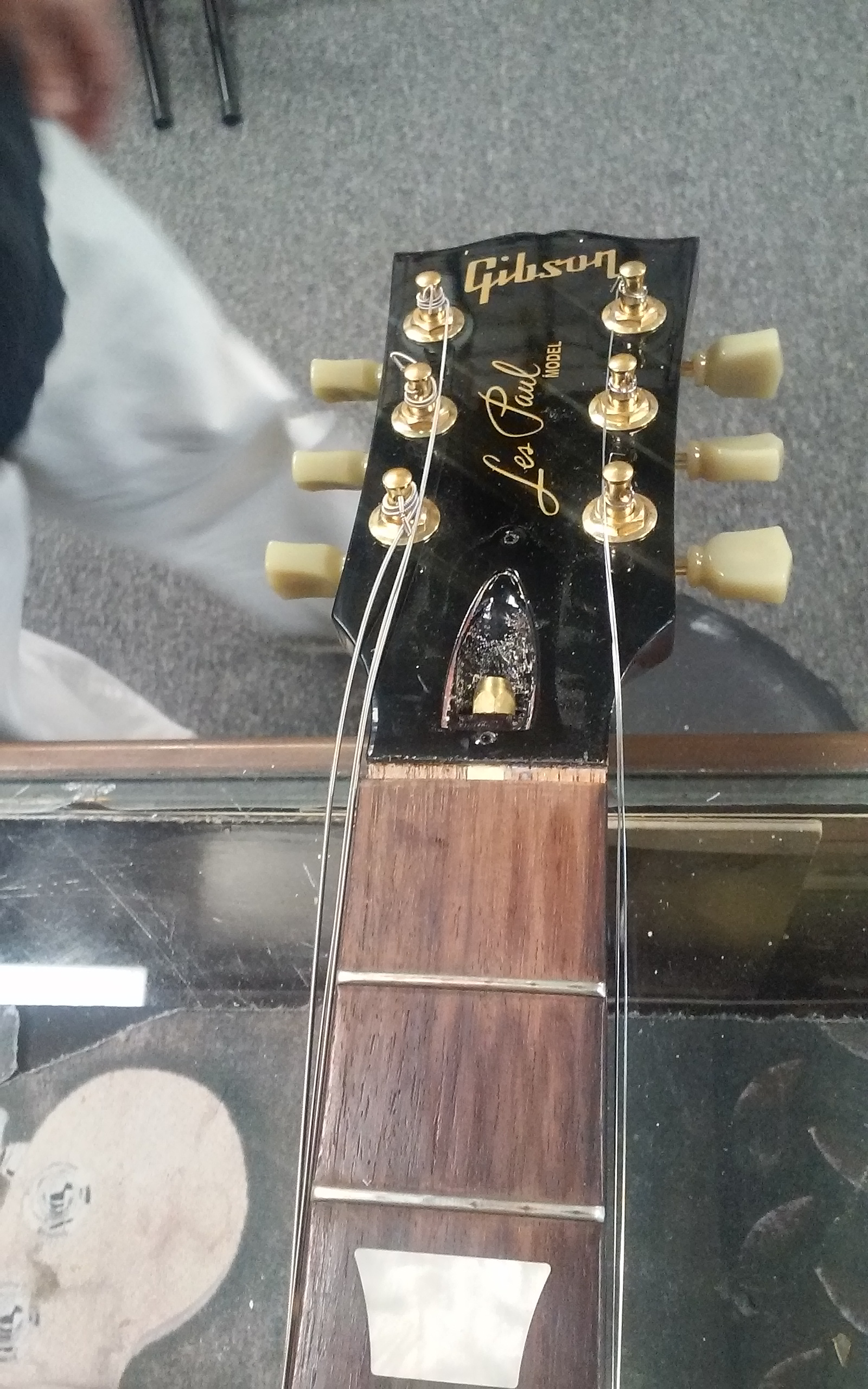 Gibson Les Paul Before