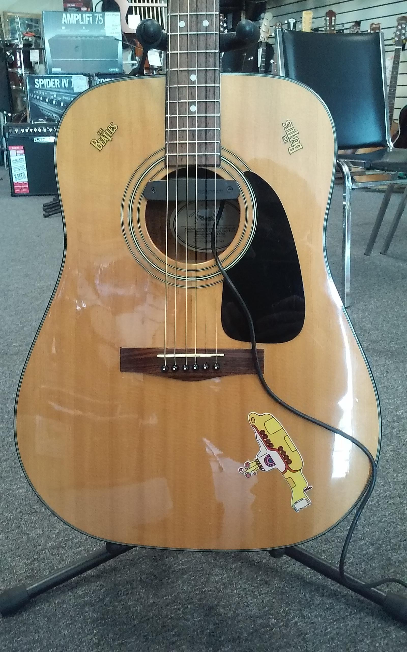 Fender acoustic pickup