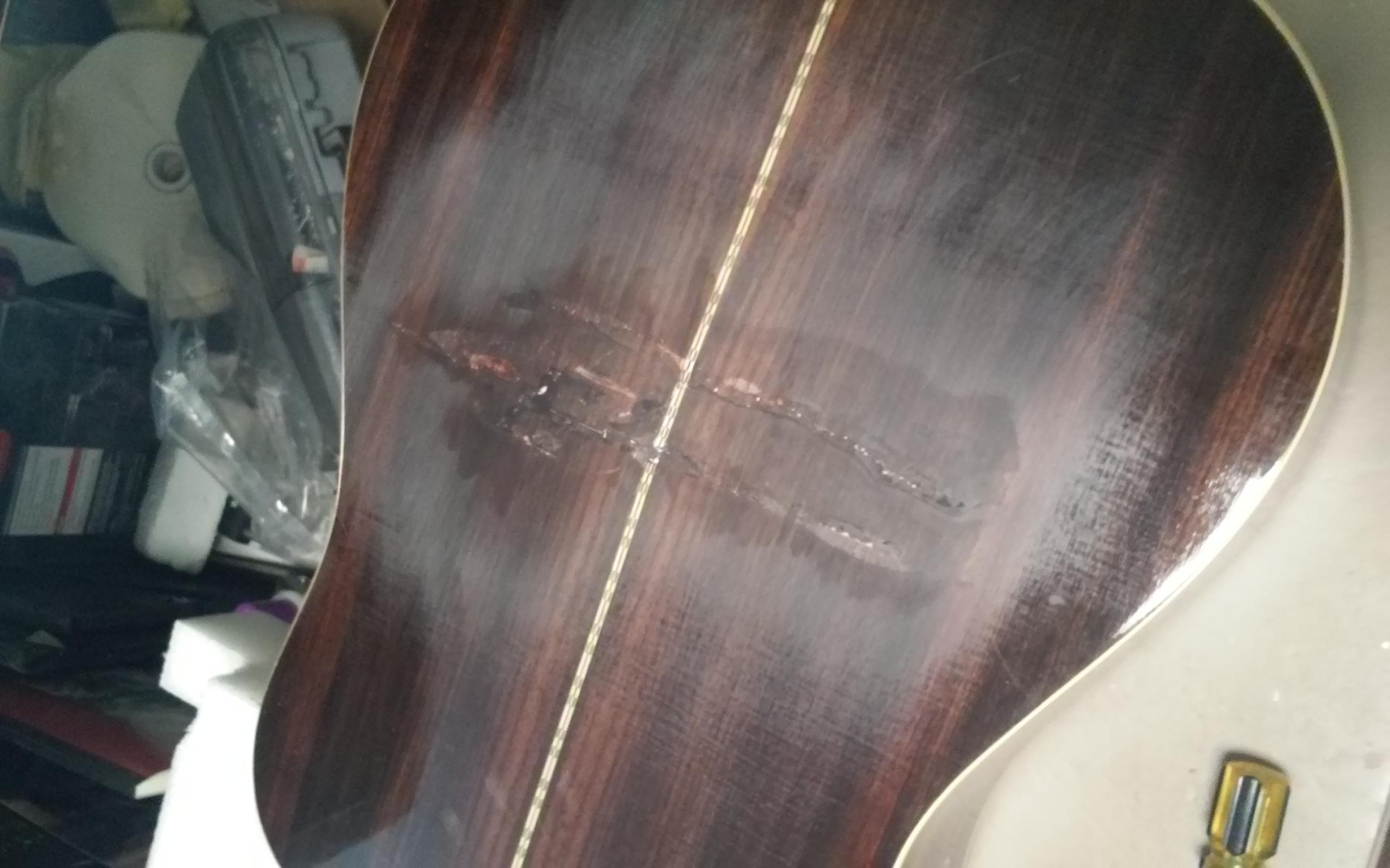 Acoustic body repair