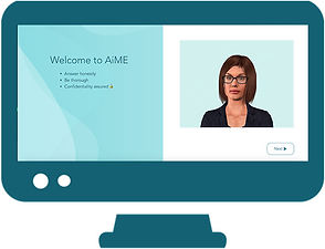 AiME example evaluation