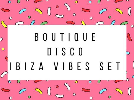 Boutique Disco releases Ibiza Vibes Livestream