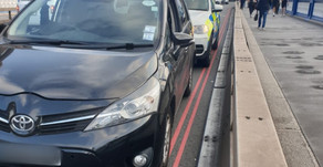 TfL licensed private hire driver reported for filming Tower Bridge while driving