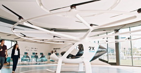 Flying taxi company begins world's first passenger flight bookings