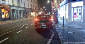 £100 fine and 3 penalty points issued to Essex taxi driver caught stopping on zigzag road markings