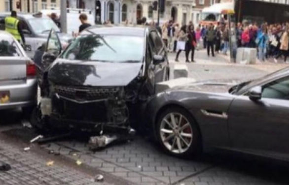 Man who sparked terrorism fears in London was driving for Uber with