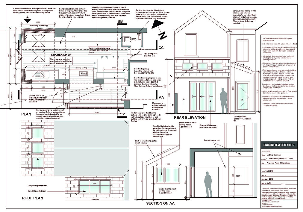 Architects in Neath | Planning Permission for Vale of glamorgan