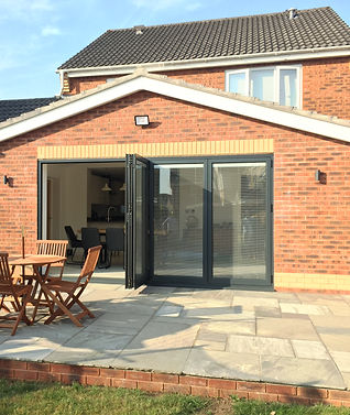Photo 19-Aluminum bi fold doors to rear extension