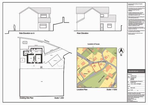 TJ-02 Existing elevations,site& location