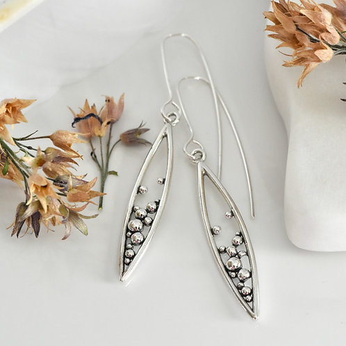 Medium Marquee Pod Earrings