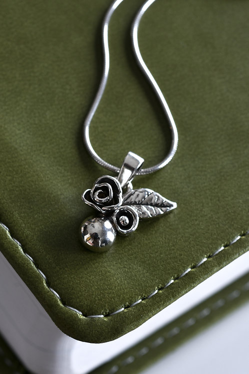 Wildflower Mini Dewdrop Pendant