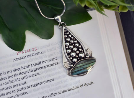 Still Waters - Psalm 23 Pendant