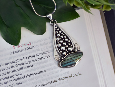 Still Waters - Psalm 23 Pendant