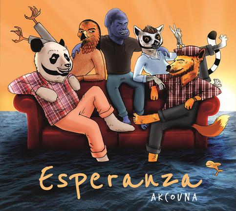 """Le nouvel album """"Esperanza"""" (sortie officielle 16/11/2018)."""