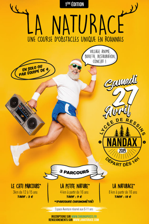 """Concert & Sport à la """"NATURACE"""""""