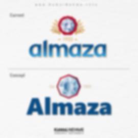 Almaza Rebranding Logo Kamal Nehme