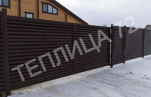Забор Ламелии Теплица72.jpg