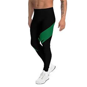 Mustat miesten leggingsit