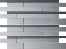 Iisi laatta harjattu alumiini