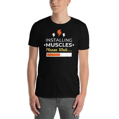 T-paita hauskalla tekstillä
