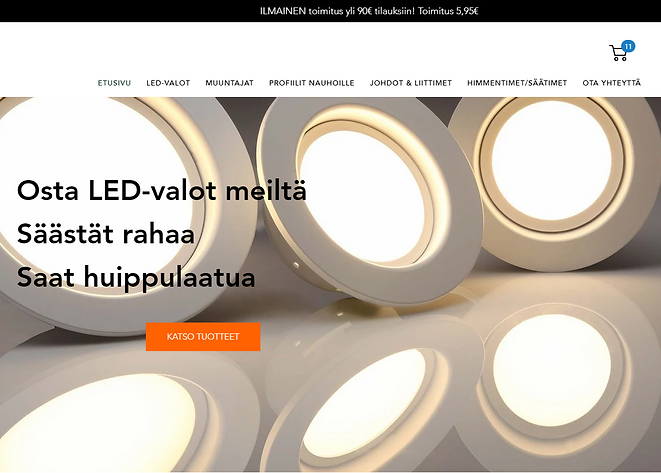 LVN.FI - LED-valot netistä