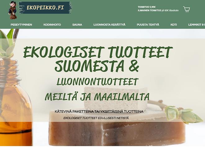 Ekopeikko.fi verkkokauppa
