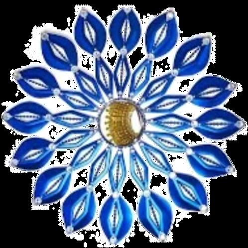 Blue Wall Mirror Pattern Download #1004