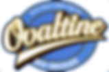 Ovaltine logo - taste great and great for you - rich chocolate