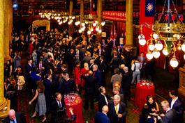 107th Taiwan National Day Reception in National Liberal Club, London