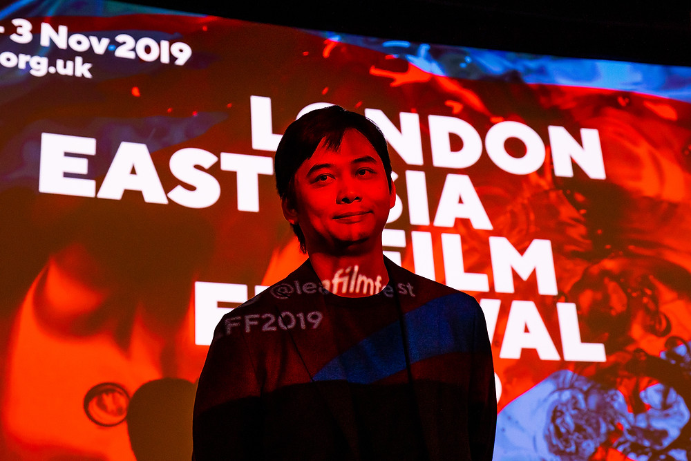 Director Mark Lu at Taiwan Night, London East Asia Film Festival 2019