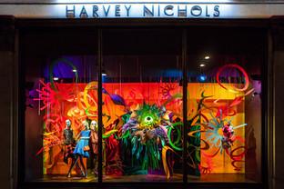 'Joys of Spring' by Artists Tsai and Yoshikawa, for Harvey Nichols