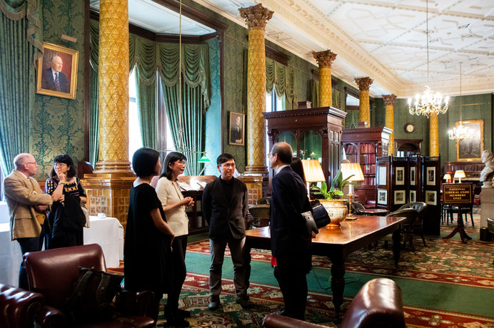 Writer Wu MingYi's talk at the National Liberal Club
