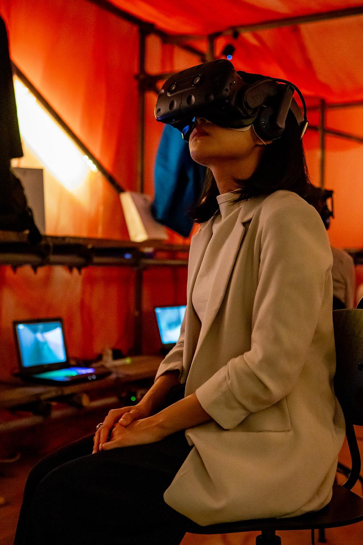 VR film screening at Taiwan Film Festival