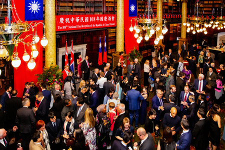 108th Taiwan National Day Reception