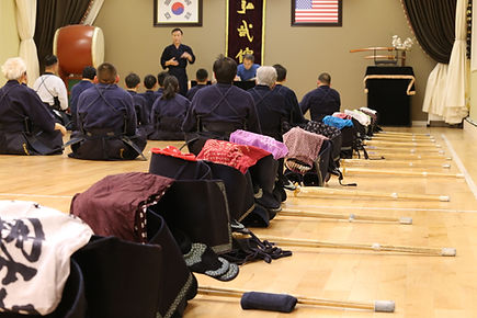 HMK Hong Moo Kwan Kumdo Academy armor hogu kumdo kendo class adults children sword martial arts
