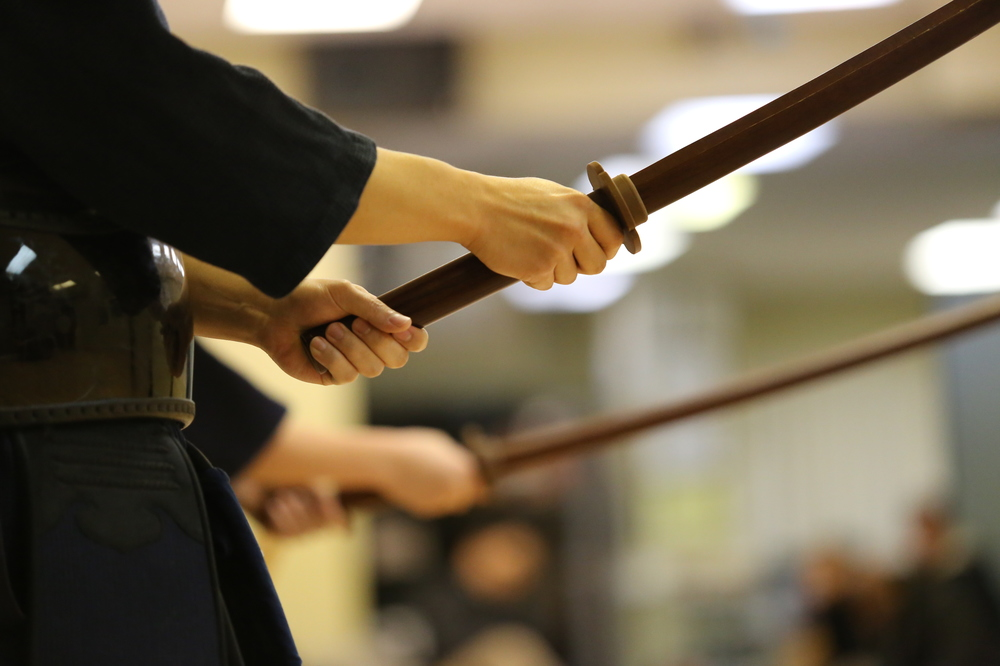 Wooden sword forms kumdo kendo HMK