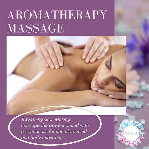 Aromatherapy Massage, 60 mins