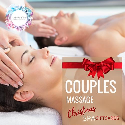 Couples Massage, 30 mins