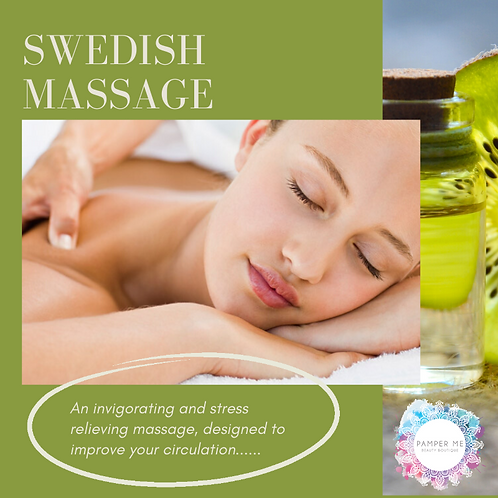 Swedish Massage, 90 mins